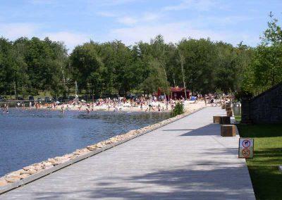 Baignade surveillée au Grand étang de Saint-Estèphe
