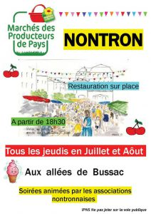 Affiche animation nontron