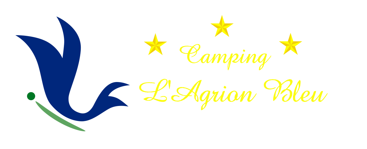The blue agrion camping