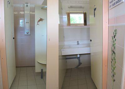 Cabine de douche et Cabine lavabo