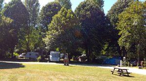 Le camping Offre des emplacements spacieux et ombragés