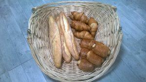 Dépôt de pain et viennoiseries